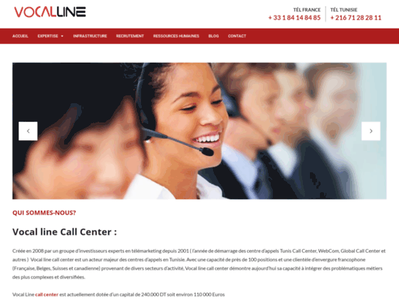 recrutement call center tunisie