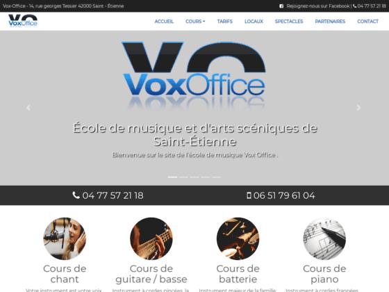 Vox Office : �cole de musique de saint �tienne