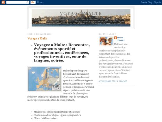 Voyage a Malte, vacance, cour d\'Anglais, sport, DMC