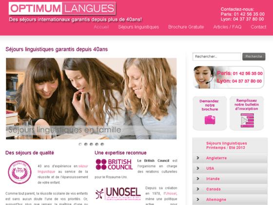 Optimum Langues