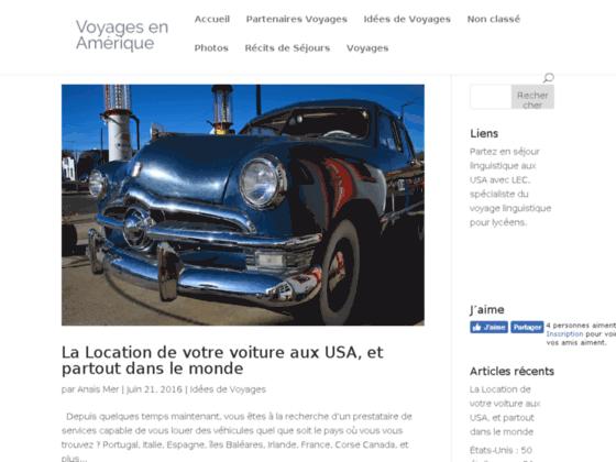 Voyages en Amérique | Récits de voyages en Amérique