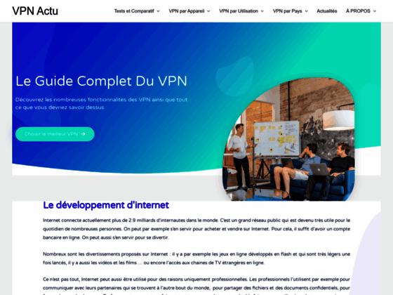 Guide sur l'utilisation de Hidemyass sur VPN Actu
