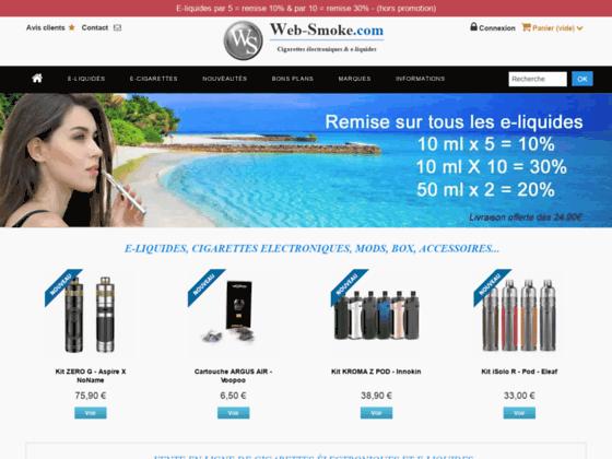 Tout sur la e-cigarette sans tabac - Web-smoke