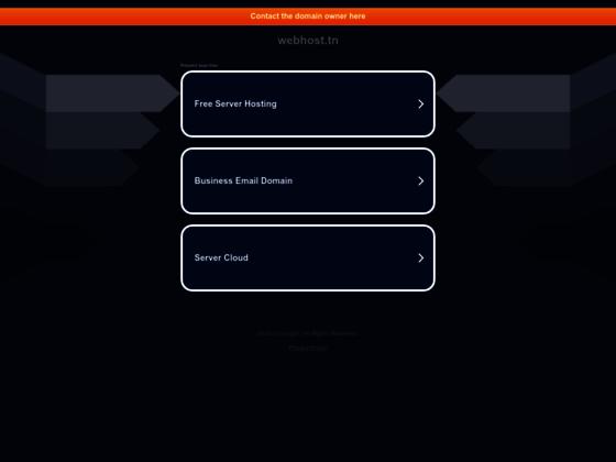 Hbergement Web & Serveurs - WEBHOST TUNISIE - Mutualisé, VPS, Revendeurs en Tunisie, cPanel, Nom de