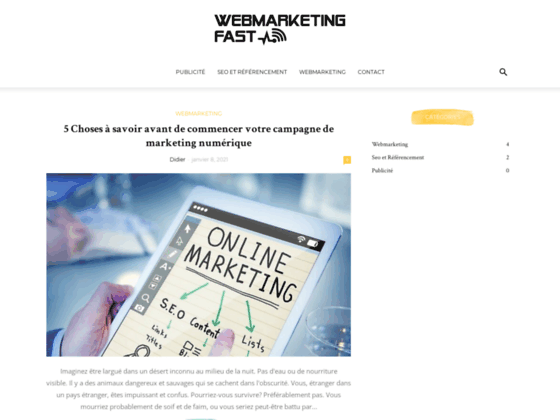 Agence Webmarketing Fast