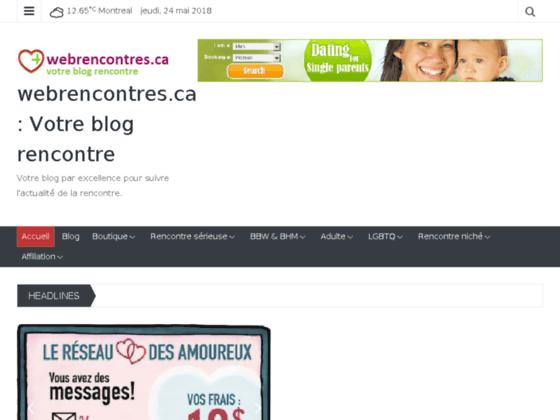 Webrencontres.ca : Le site de vos rencontres