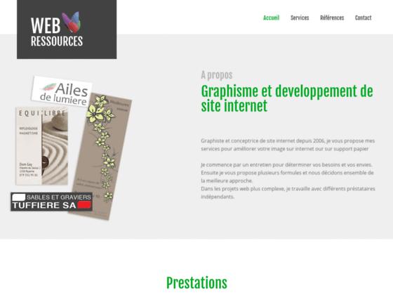 Webressources graphisme web et formation
