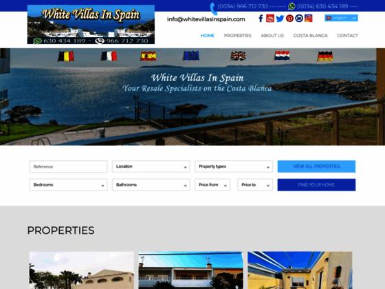 Costa Blanca Properties for Sale - Spain