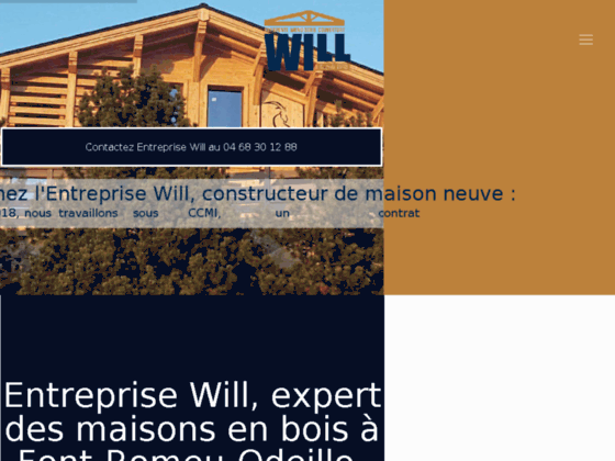 Will : Maison bois 66