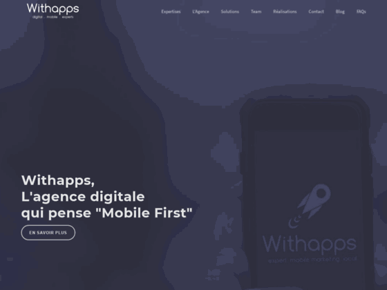 Withapps, Agence Digitale et Mobile