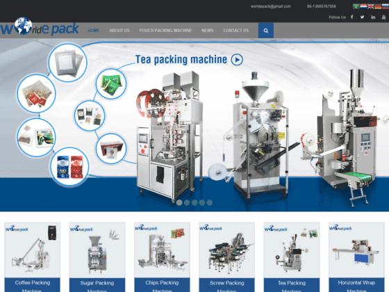 Скриншот сайта worldepack.com