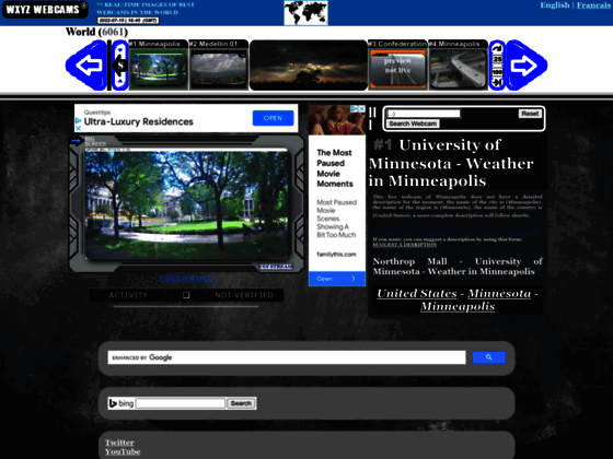 Webcams du Canada