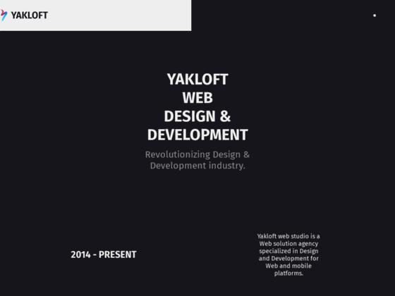 Скриншот сайта yakloft.com