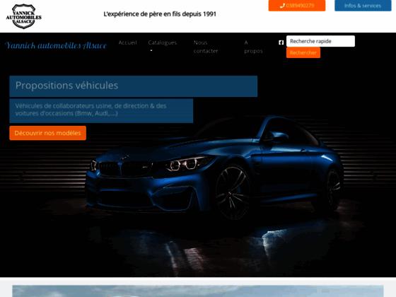 Yannick automobiles Alsace
