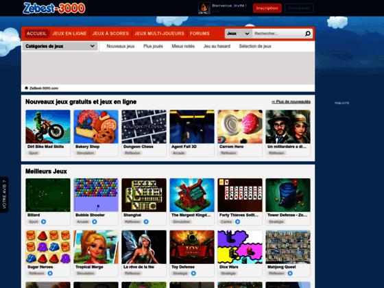 Jeux gratuits et jeux en ligne