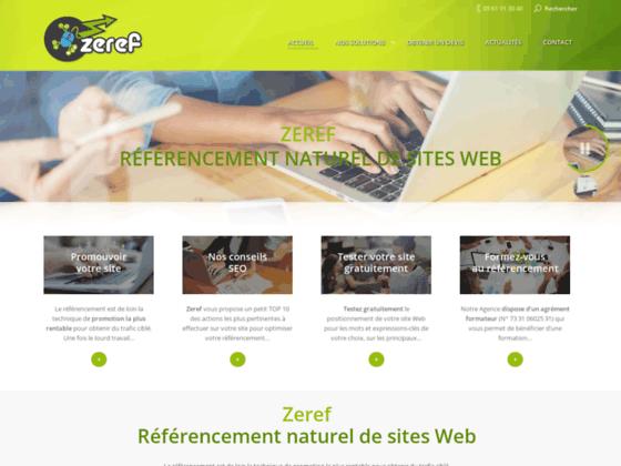 Zeref : un référencement naturel et manuel.