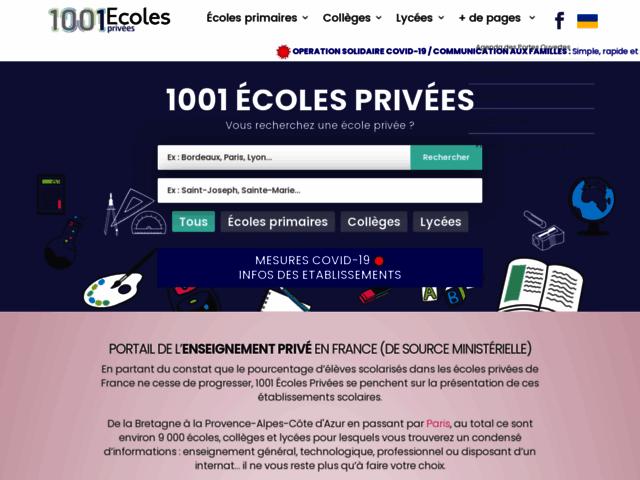 1001 Écoles Privées