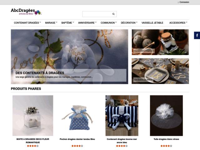 AbcDragées - boutique de dragées en ligne