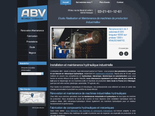 Installation et maintenance hydraulique industrielle