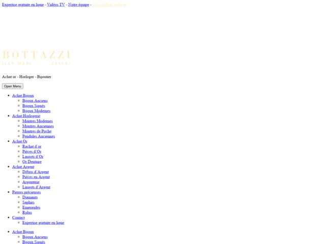 Site web bijouterie paris