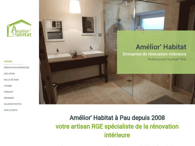 Amelior'Habitat, rénovation Pau Orthez