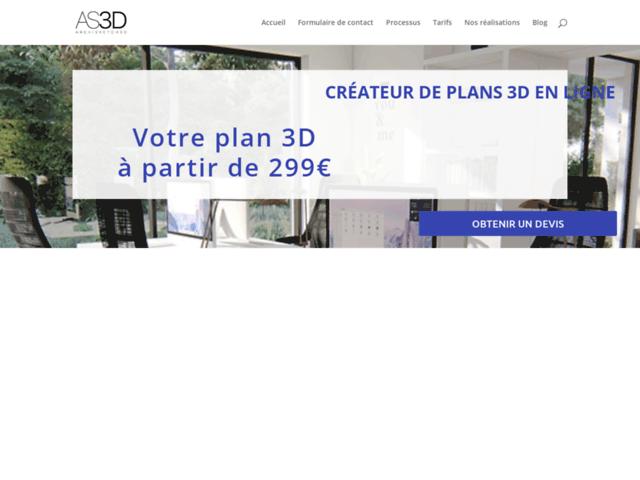 Concepteur de plan 3D en ligne
