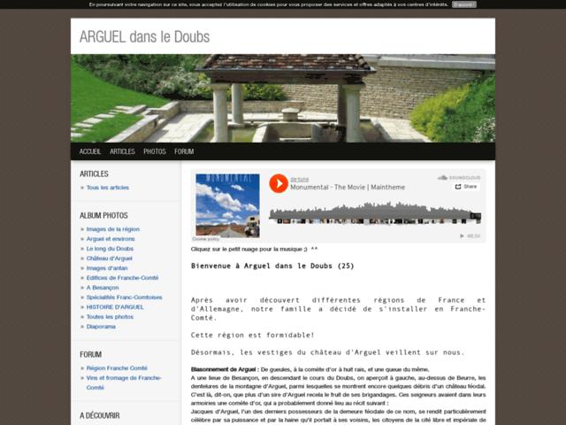 ARGUEL dans le Doubs (Franche-Comté)