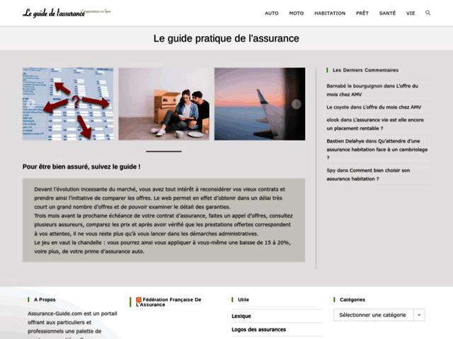 Assurance Guide et Devis en ligne