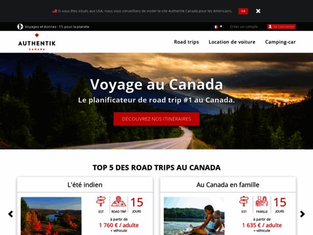 Blog de voyage Authentik Canada