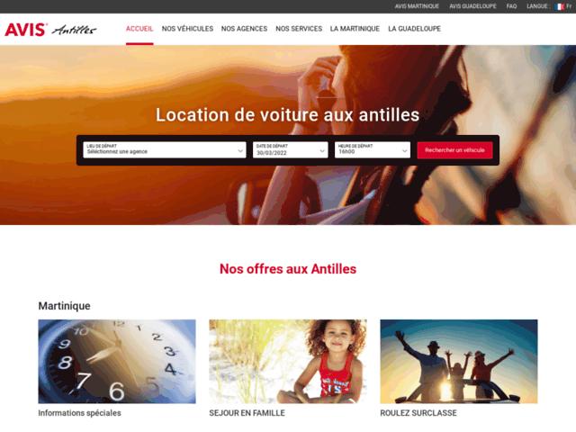 Location de voiture pas cher en Guadeloupe - Avis Antilles