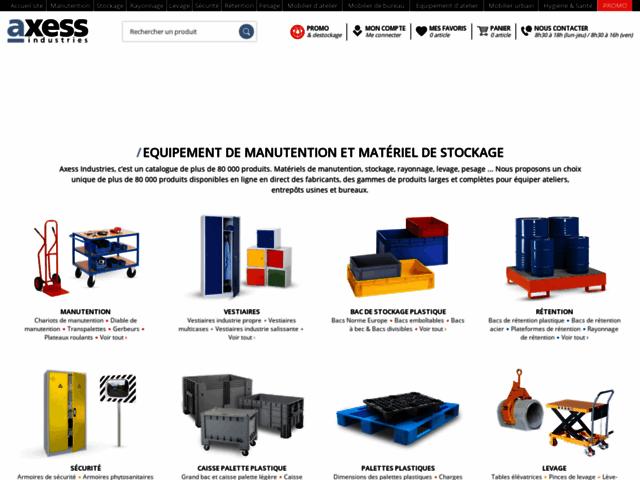 Machine d'emballage - Axess-industries
