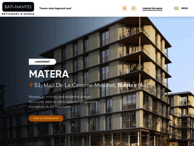 Bâti-Nantes : un promoteur immobilier expérimenté