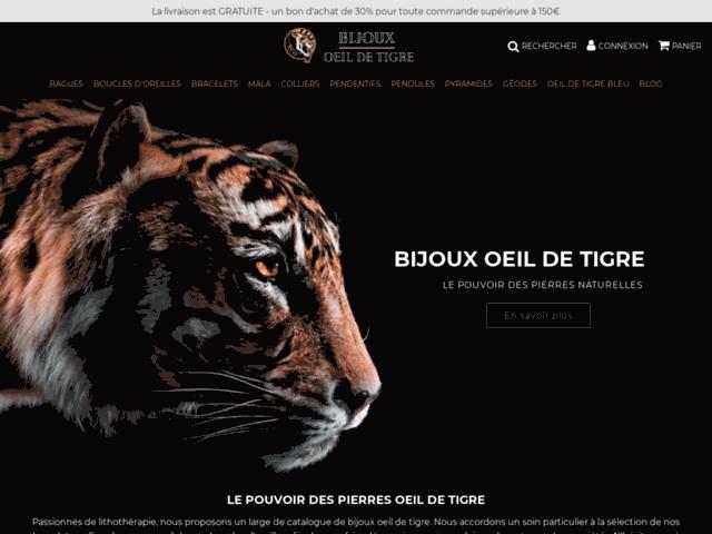 Pierre Oeil de Tigre et Lithothérapie