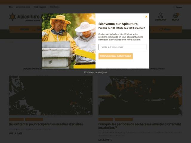 Trouver des conseils avisés sur les abeilles sur blog.apiculture.net