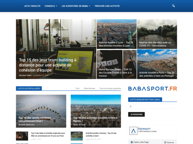 Blog Baba Sport