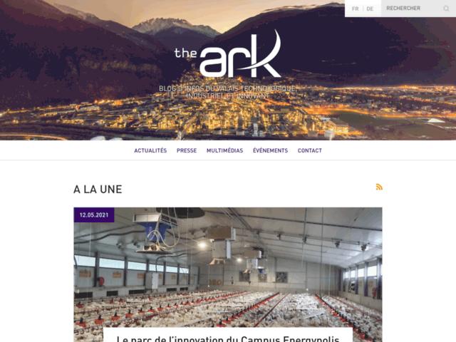 Blog The Ark - Toute l'information sur les entreprises valaisannes