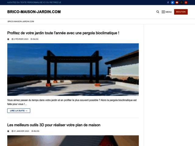 Bricolage Maison  & Jardin