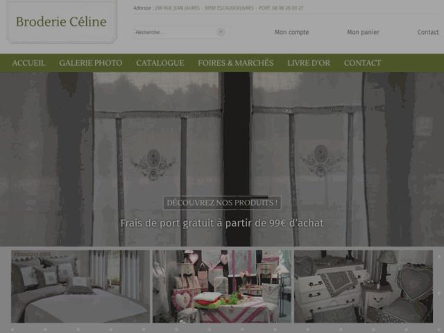 Broderie Céline, boutique de décoration de la maison, Gavrelle