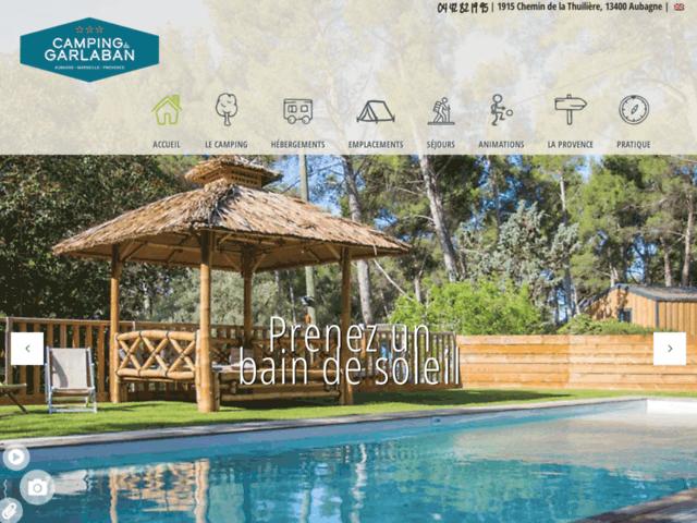 Camping à Marseille et Cassis et randonnées dans le parc national des Calanques.
