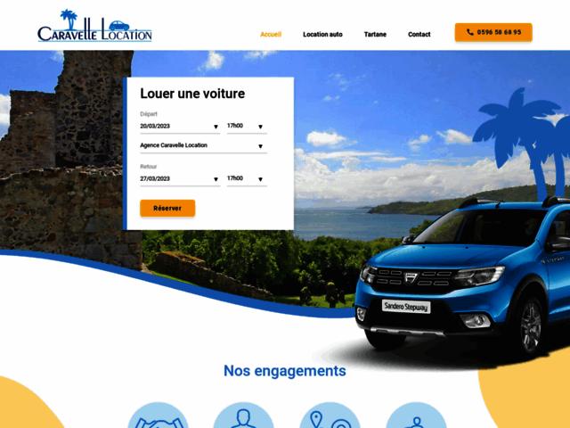 Location de voitures en Martinique - Caravelle Location