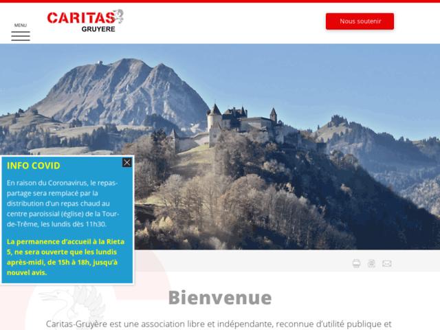 Caritas Section Gruyère, association d'aide