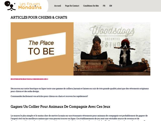 Le blog des Fauves Mondains