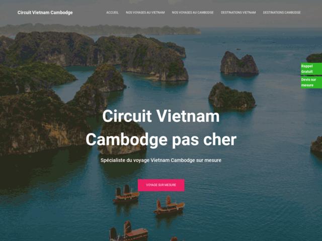 Circuit Vietnam Cambodge pas cher