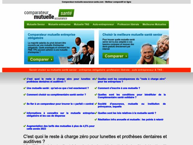 Comparateur d'assurances entreprise