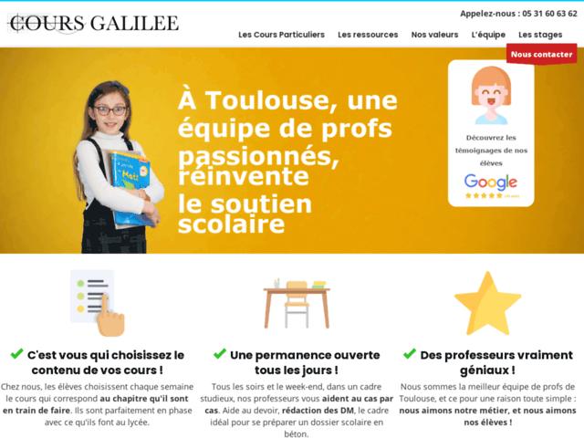 Cours Galilée