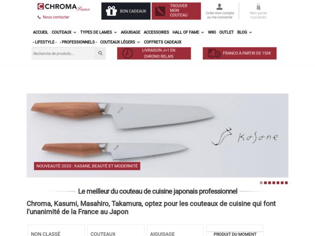 Le Japon vu par Chroma France