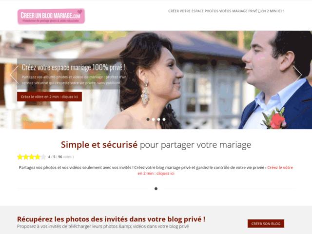 Mon blog mariage