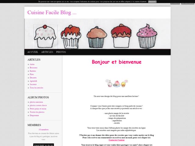 Cuisine Facile Blog