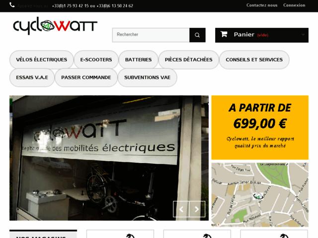 Maison du vélo électrique