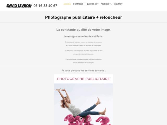 David Levron, photographe de portrait et personnage à Nantes